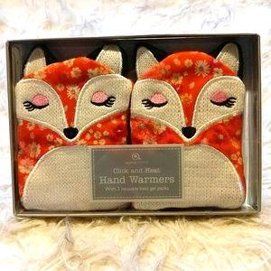 Fox Reusable Hand Warmers Mitts